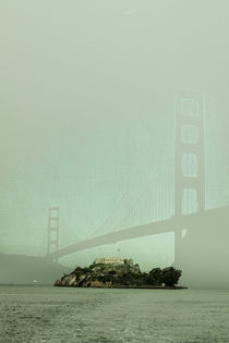 San Francisco - In the shadow of the bridge by Chris Berger