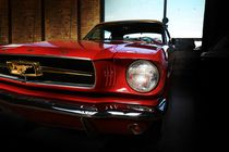 ford mustang classic car von hottehue