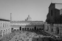 Piazza Maggiore from above von Azzurra Di Pietro