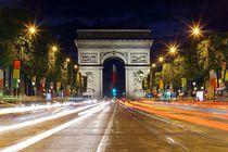 Avenue des Champs-Élysées Paris von Patrick Lohmüller