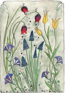Spring Flowers V von dieroteiris