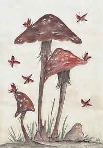 Fungus Family by dieroteiris