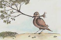 Bird an Tree by dieroteiris