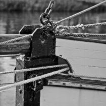 Details an einem alten Segelschiff 01 by Günter Templin