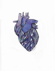 Crystal Heart von Rebecca Barnes