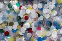 Plastikplättchen von fotolos