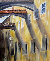"""Nagelschmiedgasse Passau"" by Hans Hackinger"