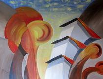 """Bergdorf I"" by Hans Hackinger"