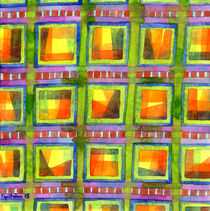 Light behind colorful geometric Windows  by Heidi  Capitaine
