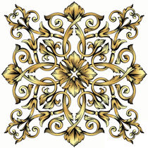 Royal Ornament - Gold Decor by mikart