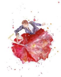 Dancing Couple - Ballroom by mikart