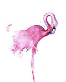 Flamingo Bird by mikart