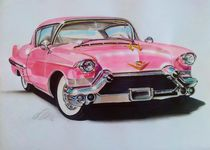 pink cadillac by Ursula Thuleweit Laranjeiro