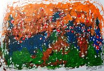 neoexpressialistische Abstraktion by art-dellas