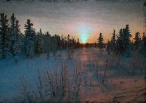 Winter sunset by sonnengott