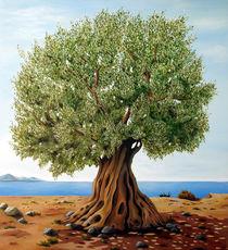 Olivetree - Original painting on canvas by Georgia Korogiannou