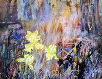 'gelbe Iris' von Helga Koch