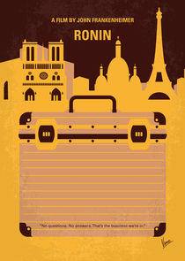 No801 My RONIN minimal movie poster by chungkong