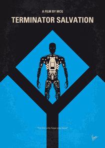 No802-4 My The Terminator 4 minimal movie poster von chungkong