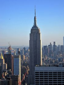 Empire State Building, Blick vom Rockefeller Center by assy