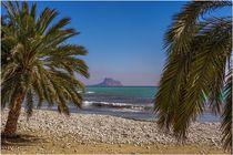 STRAND VON ALTEA / SPAIN / COSTA-BLANCA von claus-gergen köhler
