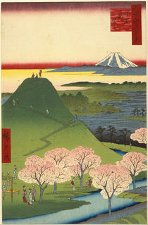 Utagawa Hiroshige I,  from the series One Hundred Famous Views of Edo  by franshals