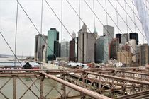 Blick von der Brooklyn Bridge by assy