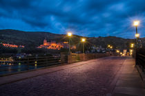 Heidelberg's Old Bridge by h3bo3