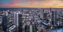 Frankfurt from above by h3bo3
