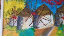 Windmühlen in Mykonos,Griechenland von Inge Zeller
