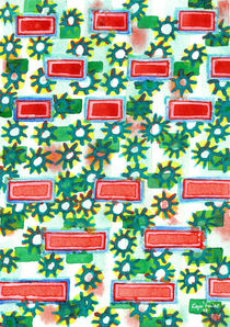 Sunshine between Blocks Pattern  by Heidi  Capitaine