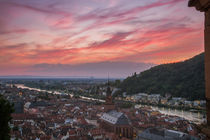 Sunset in Heidelberg by h3bo3