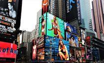 Times Square, Leuchtwerbung von assy