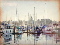 Port of Olympia  von O.L.Sanders Photography