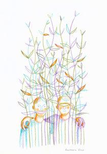 Young plants (Jeunes pousses) von Anastassia Elias