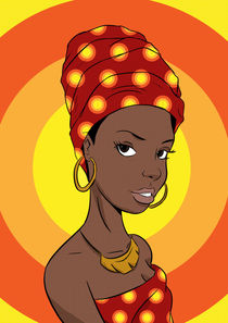 Afropop lady by mbembe