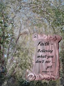 Faith Scroll by eloiseart