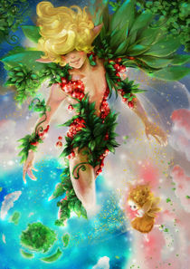 Peter and Tink by Nicola Robin