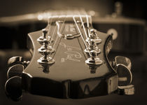 Guitar in sepia by h3bo3