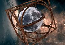 Mondglobus by Michael Golüke
