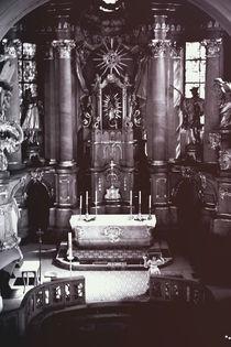 Licht am Altar von Bastian  Kienitz