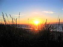 Sonnenuntergang auf Langeoog by assy