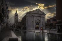 Venice San Barnaba by Maurizio Fecchio