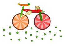 Essbares Fahrrad by Jutta Ehrlich