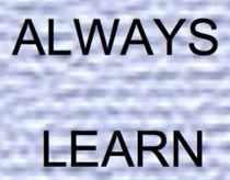 ALWAYS LEARN by bazaar