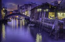 Venezia Squero di San Trovaso by Maurizio Fecchio