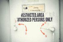 restricted area by bazaar