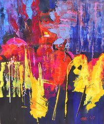 """Abstraktes 011 - """"Guardians""""  von Matthias Kronz"""