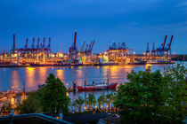 Hafenlichter @ Elbe3 von photobiahamburg