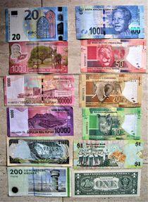 verschiedene Geldscheine von assy